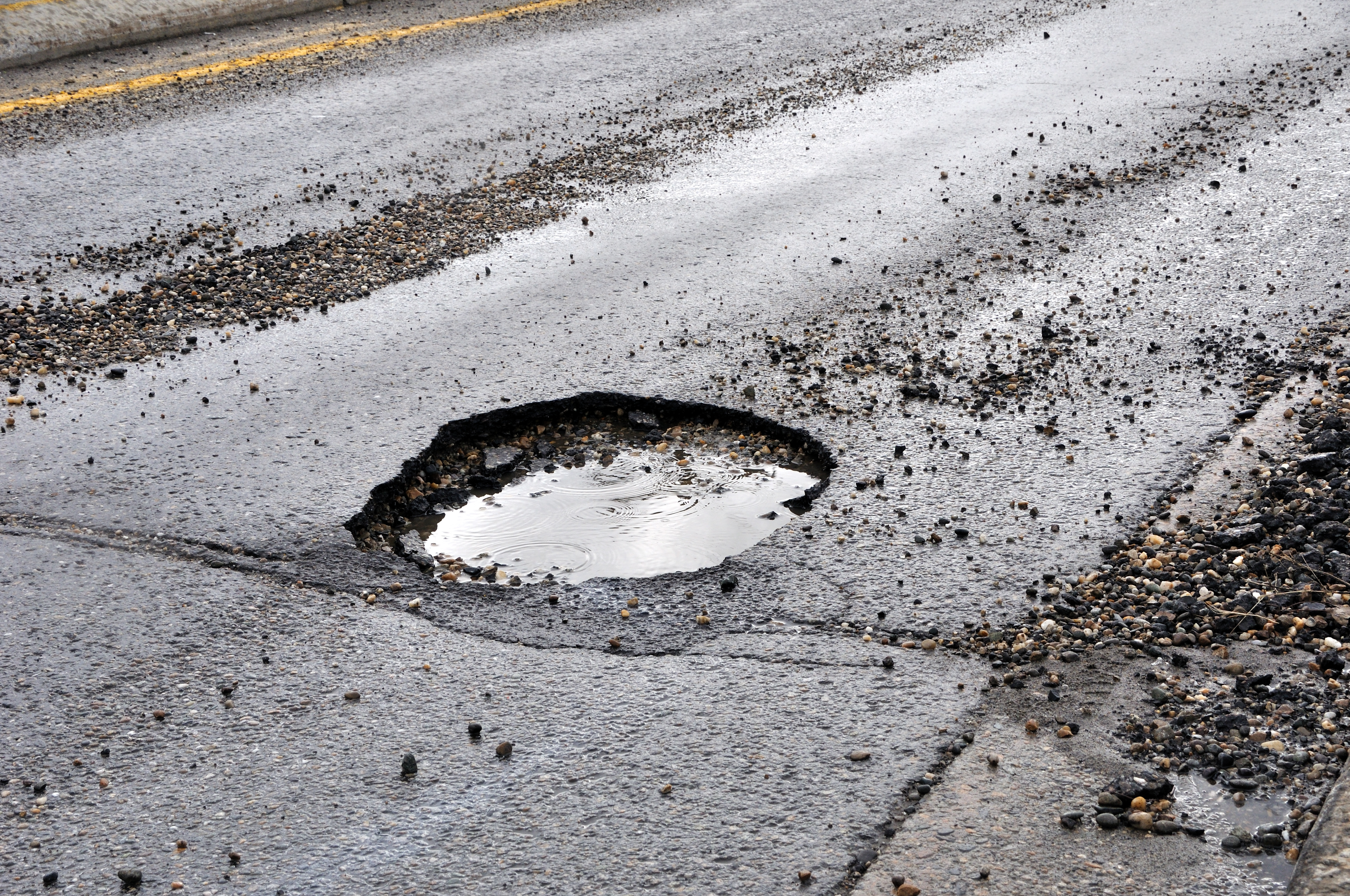 albuquerque potholes