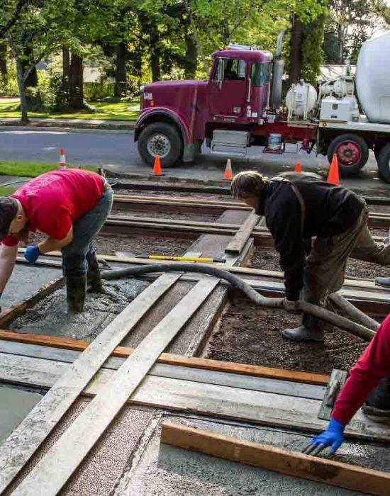 concrete driveway repair albuquerque