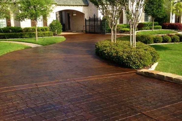 stained concrete patio albuquerque nm